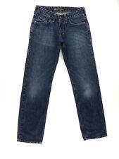 Bullhead Denim Co. Men's Tag Size 28 x 30 Low Rise Slim Blue Jeans Actual 27x29