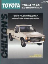 Chilton Repair Manual Guide Toyota Pick-Ups,Land Cruiser,4Runner 1970-1988