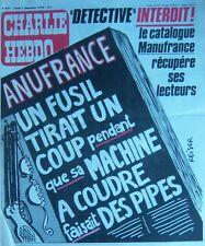 CHARLIE HEBDO No 421 DECEMBRE 1978 REISER  CATALOGUE MANUFRANCE
