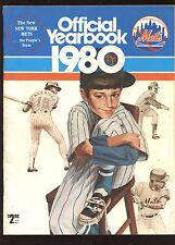 1980 New York Mets Baseball Yearbook EXMT
