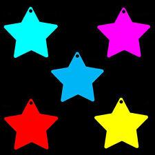 100 etiquetas de etiqueta de precio de estrella grande Columpio Entradas. Boda Favor ETIQUETAS. todos Los Colores