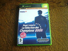 jeu xbox roger lemerre la selection des champions 2005