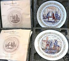 """LAFAYETTE LEGACY COLLECTION I and II 8.5"""" Plates NEW Porcelain D'Arceau Limoges"""