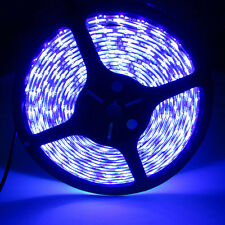 5M 12V 72W UV Purple Ultra Violet 5050 300LED Non-Waterproof SMD Strip 16FT DC