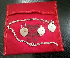 Me & Ro 10K Gold Silver Lotus Petal Pendant with Chain Necklace