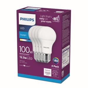 PHILIPS LED A19 12.5W1500L DL4PK