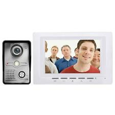 "7"" Wired Color Video Door Phone Doorbell Intercom Security Monitor Night Vision"