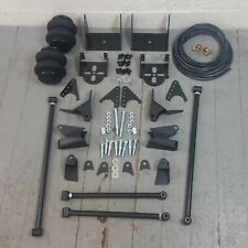 1947-59 Chevy Truck Triangulated 4-Link + 2600lb Rear AirRide Bag Suspension Kit