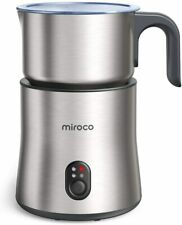 Detachable Milk Frother, 4 in 1 Miroco 16.9oz Automatic Stainless Steel Milk Ste