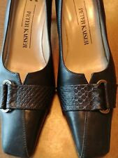 WOMEN'S LEATHER PETER KAISER SIZE US 7 HEELS PORTUGAL