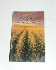 Dekalb Farmers Pocket Advertising Agriculture Product Guide Vintage Book Farm