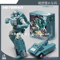 """New Deformabl Robot Kup Veteran MFT MF-37 Future Truck Action Figure 4"""" Kids Toy"""