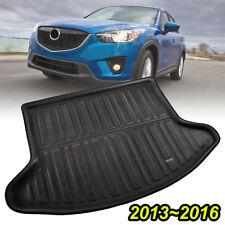 Rear Trunk Boot Mat Cargo Liner Floor Tray Carpet Guard For Mazda CX-5 CX5 12-16