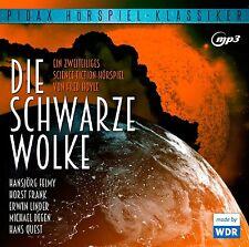 Die schwarze Wolke - CD 2-teiliges Hörspiel nach Fred Hoyle MP3-CD Pidax Neu Ovp