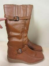 Rasolli Women's 5 1/2 Tammy Riding Boot TAN sz 5.5 NEW! Tammy-3 Brown Boots