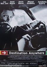 "BON JOVI ""DESTINATION ANYWHERE"" U.K.  VIDEO PROMO POSTER - Jon Driving Car"