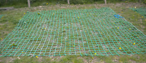 14x 11ft STRONG cargo rope scramble net 4event fun fun fitness training obstacle