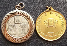 """URUGUAY VINTAGE LOT X2 """"TRUCO"""" AWARD MEDALS TYPICAL CARD GAME"""
