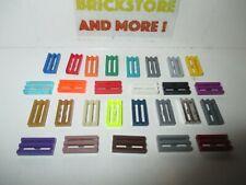 Lego - Plate Plaque Tile 1x2 Grille 2412 Choose Quantity x4 x10 x20 x40 & Color