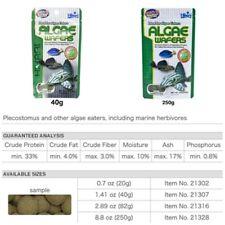Hikari algae wafers catfish pleco wafer tropical edible fish food catfish sunk
