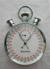 Bulova 1085 Stopwatch with lap timer - Working