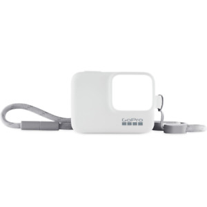 GoPro Sleeve & Lanyard For HERO 7, 6, 5 And HERO 2018 White Official Accessory