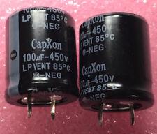 20 x  E-Cap. 100uf 450VDC 85c Snap 25x31mm 10mm Pitch