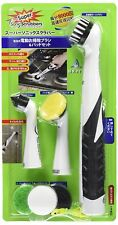 Electric cleaning brush super sonic scrubber body set Japan import Free ship