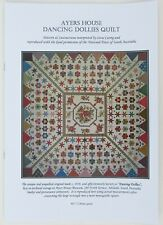 Ayers House Dancing Dollies Quilt by Irene Carrig (Pamphlet, 2009)
