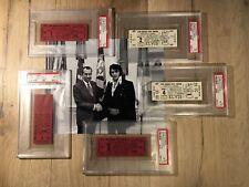 1975 Elvis Presley Concert Tickets (5) All Five Concerts Huntsville Alabama PSA