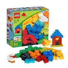 LEGO DUPLO Blocks Basic Bricks 6176 Retired 80 PCS Discontinued by Manufacturer