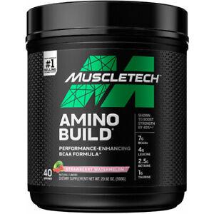 MuscleTech Amino Build Next Gen Amino Acids, BCAA 40 SERVINGS NEW LABEL USA***