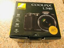 Brand New Nikon COOLPIX L340 20.2 MP 28x 3