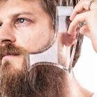 Men Beard Shaping Tool Styling Comb Template Shape Shaving Lines Hair Cut Guide