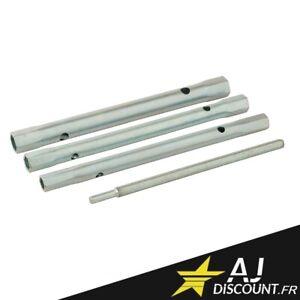 Jeu de 3 clés à tube pour Lavabo / Mitigeur / Robinet - 8, 9, 10, 11, 12 et 13mm