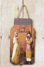 Country New wood Fall decor hanger / GIVE THANKS