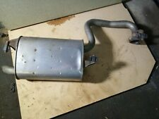 Toyota Avensis T25 2.0 D4D Back Box Exhaust