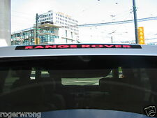 Land Range Rover HSE Sport 3rd brake light decal overlay 03 04 05 06 07 08 09