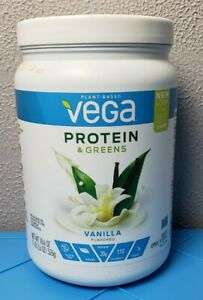 Vega Protein & Greens Vanilla Flavored Protein Powder BB 03/21