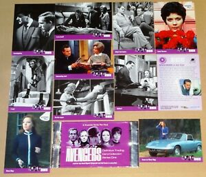 The Avengers 1960's TV - Set of 100 Series 1 Trading Cards - Strictly Ink (2003)