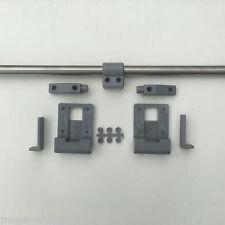 MVM Mid Grey Sliding Table Rail for Campervan Caravan Motorhome T4 T5 850mm