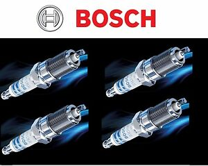 4 X BOSCH OE Fine Wire Iridium Power Performance Spark Plugs # 9651