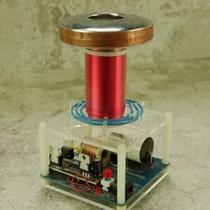 tesla coil DIY micro table SGTC spark gap tesla coil science physical toy