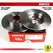 2X MINTEX REAR DISC BRAKES MDC1833 ACURA HONDA CIVIC COUPE - IX VII VIII GENUINE