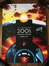 2001: A Space Odyssey Movie Poster Art Print Stanley Kubrick Joshua Budich mondo