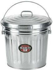 NEW BELHRENS 6110 10 GALLON GALVANIZED GARBAGE TRASH CAN & LID USA SALE 6231500