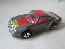 1986 Matchbox 1:58 Metallic Charcoal Grey Porsche 959 Turbo Sports Car (Mint)