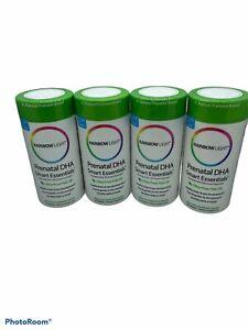 Rainbow Light Prenatal DHA Smart Essentials 60 Softgels New Sealed Lot of 4