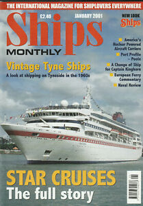 SHIPS MONTHLY Nautical Magazine Bundle - All 12 Issues from 2001
