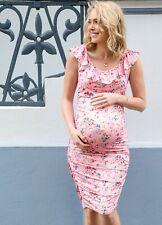Floressa - Isabelle Frill Maternity Nursing Dress - Feeding Tank Dress